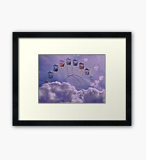 Carnival in the Clouds !! Framed Print