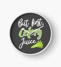 But First, Celery Juice Clock