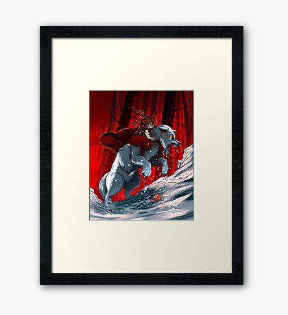 Red Riding Hood Framed Print