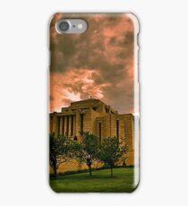 Cardston Alberta Temple iPhone Case/Skin