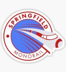 Springfield Monorail Sticker
