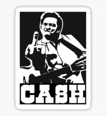 Cash. Sticker
