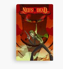 Ned's Dead Canvas Print
