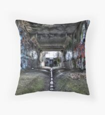 Graffiti Underground Throw Pillow