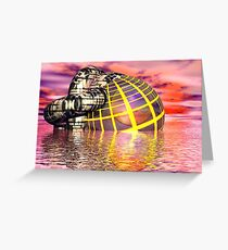 The oher world Greeting Card