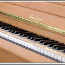Piano Keys von BlueMoonRose