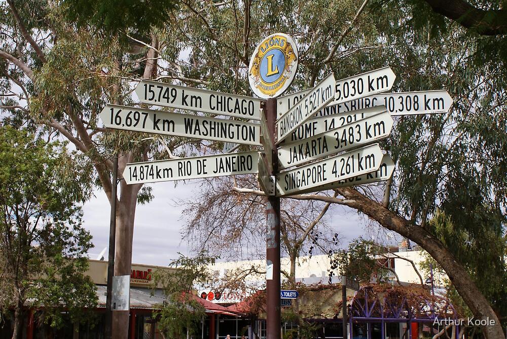Which Way by Arthur Koole