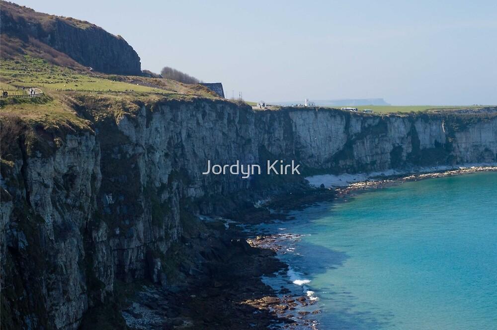 Sea Cliffs at Carrick-a-Rede by Jordyn Kirk