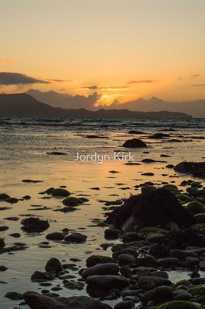 Sunset on the Bunowen  by Jordyn Kirk