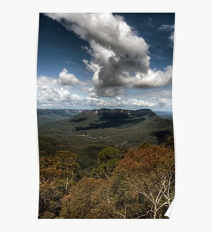 Blue Mountains Polarized Poster