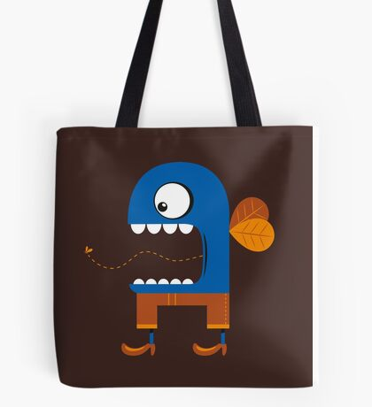 Blue Fly Snack Tote Bag