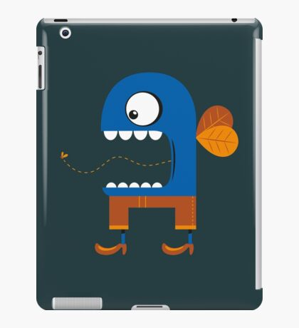 Blue Fly Snack iPad Case/Skin