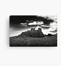 Bamburgh Castle in Northumberland, UK Canvas Print