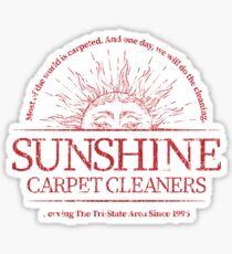 Sunshine Carpet Cleaners Sticker