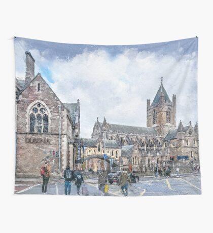 Dublin art #dublin Wall Tapestry