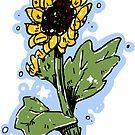 Süße Sonnenblume von arareart