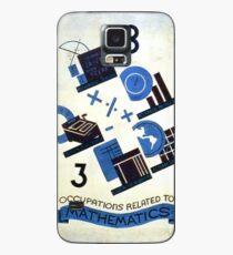 Math Occupations Premium Tee Case/Skin for Samsung Galaxy