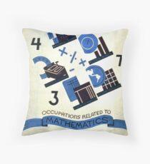 Math Occupations Premium Tee Throw Pillow