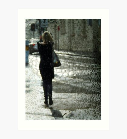 Walking on water Art Print
