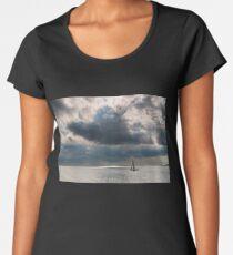 Stormy Waters  Women's Premium T-Shirt