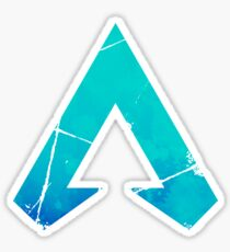 Apex Legends Logo | Apex Legends Colorflip Watercolor Symbol Sticker