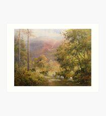 Between the Trees, Cumbria, England Art Print