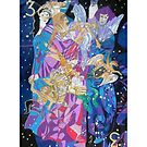 Summer Triangle giclee with borders by Denise Weaver Ross