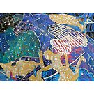 The Great Square giclee with borders by Denise Weaver Ross
