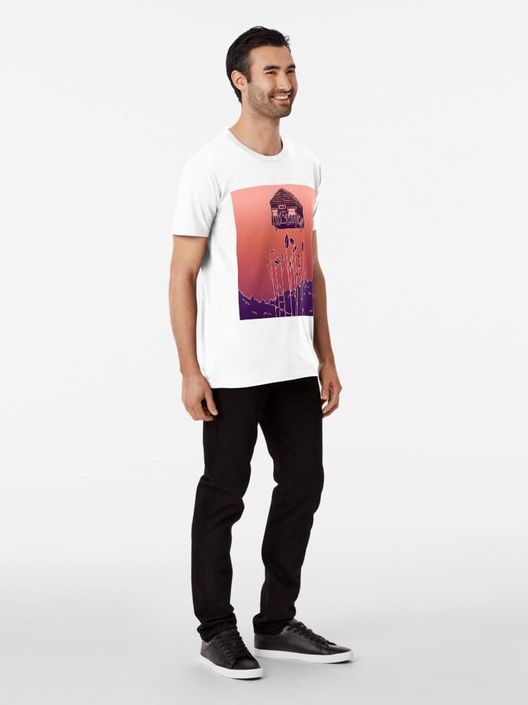 Alternative Ansicht von Experimentell Premium T-Shirt