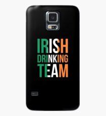 Irisches trinkendes Team-T-Shirt Irland-St Patrick Tageshemd Hülle & Klebefolie für Samsung Galaxy