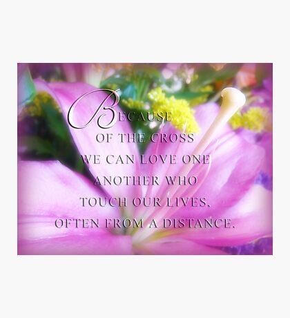 Love~inspirational card  Photographic Print