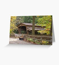 Mill Creek Covered Bridge Greeting Card