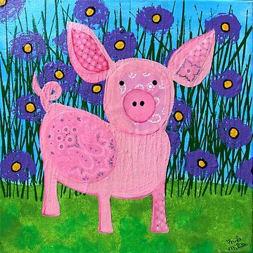 This Little Piggy by KaylaMillerArt