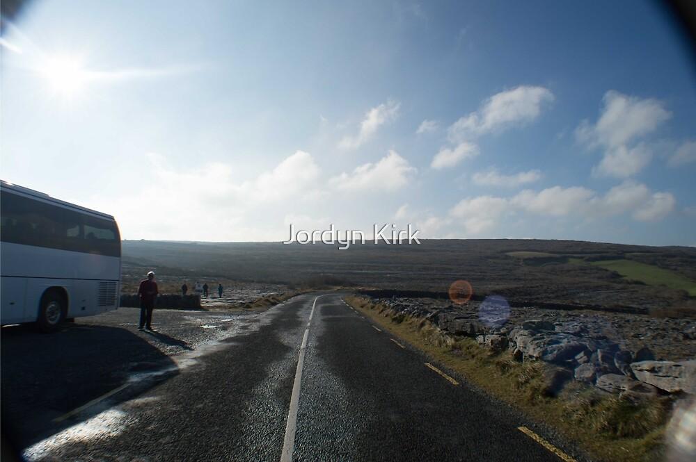 Eoin on the Road by Jordyn Kirk