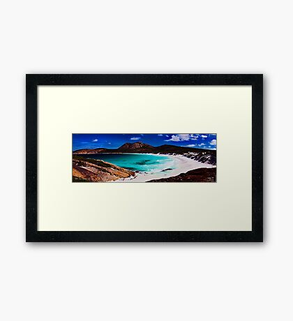 Thistle Cove Framed Print