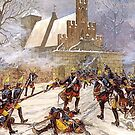 Prussian Grenadiers at the Battle of Leuthen 1757 by edsimoneit