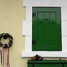 green window by Rita Iszlai