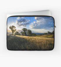 Sunset over the Grasslands Laptop Sleeve