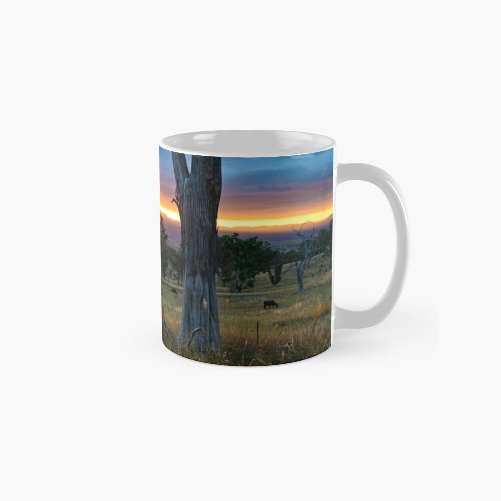 Sunset over the Brindabellas Mugs