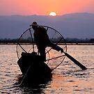 Rowing Intha Fisherman by Gina Ruttle  (Whalegeek)