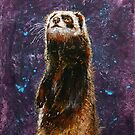 Sable Ferret by Michael Creese