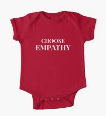 Body de manga corta para bebé Elige empatía