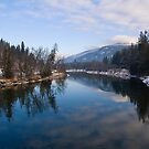 Slocan River by Tracy Riddell
