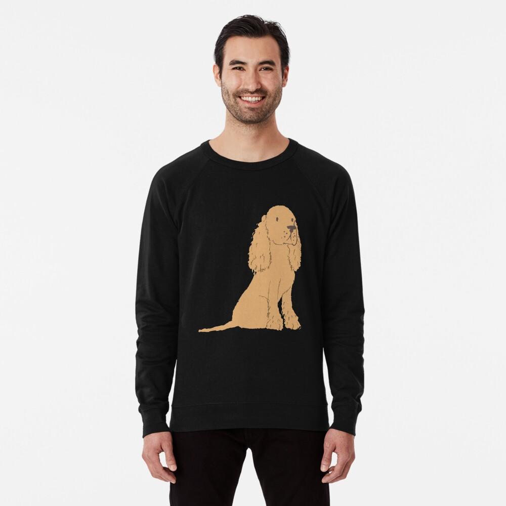 Golden Spaniel - Watercolor Style Spaniel Lightweight Sweatshirt