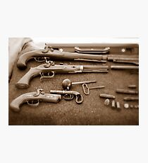 Civil War Guns Photographic Print