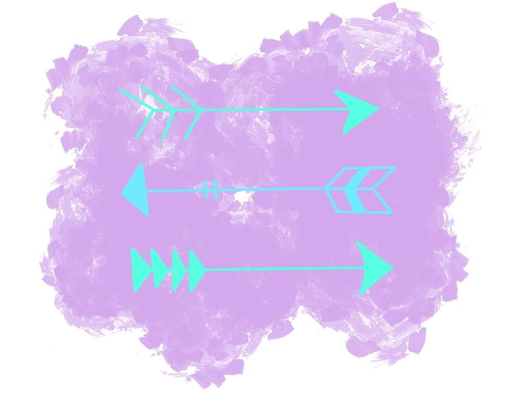 Pastel Arrows by aezylin