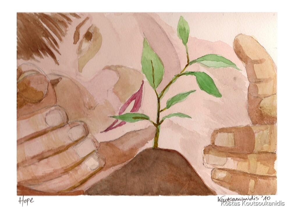 Hope (study) by Kostas Koutsoukanidis