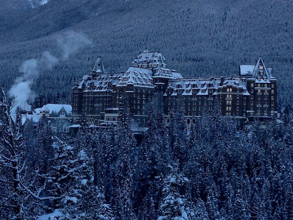 Banff spring hotel, Canada by burtmon99