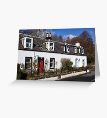Corrie Cottages Greeting Card