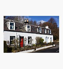 Corrie Cottages Photographic Print